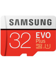 Samsung EVO Plus microSD C10 UHS-I[MB-MC32GA/RU]