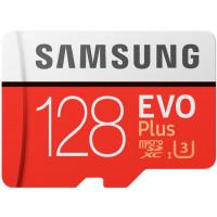 Samsung EVO Plus microSD C10 UHS-I[MB-MC128GA/RU]