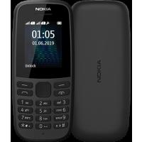 Nokia 105 Dual Sim 2019 (Black) TA-1174