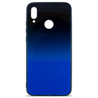 Чехол Glass Case Gradient Xiaomi Redmi Note 7 (Blue Abyss)