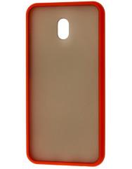 Чохол LikGus Maxshield матовий Xiaomi Redmi 8a (червоний)