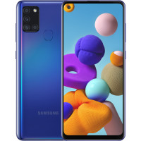 Samsung A217F Galaxy A21s 3/32Gb (Blue) EU - Официальный