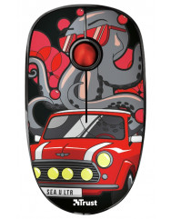 Trust SKETCH SILENT WL MOUSE[RED]