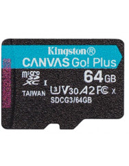 Kingston Canvas Go! Plus microSD[SDCG3/64GBSP]