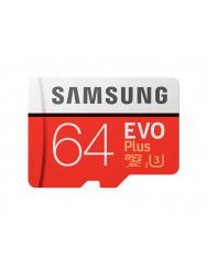 Samsung EVO Plus microSD C10 UHS-I[MB-MC64HA/RU]