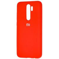 Чехол Silicone Case Xiaomi Redmi Note 8 Pro (красный)