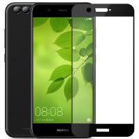 Защитное стекло для Huawei Nova 2 (3D Black) 0,33mm