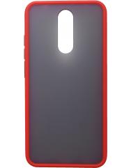 Чехол LikGus Maxshield матовый Xiaomi Redmi 8 (красный)