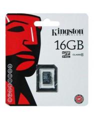 Карта памяти Kingston micro SD 16gb (10cl)