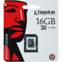 Карта памяти micro SD 16gb (10cl) Kingston