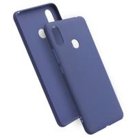 Чехол Soft Touch Xiaomi Redmi Note 7 (синий)
