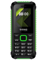 SIGMA X-style 18 Track (Black-Green)