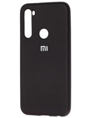 Чохол Silicone Case Xiaomi Redmi Note 8T (чорний)
