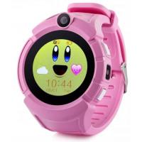 Детские GPS-часы Q360 GPS (Pink)