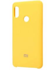 Чохол Silky Xiaomi Redmi Note 6 pro (жовтий)