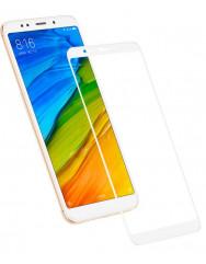 Захисне скло Xiaomi Redmi 5 Plus (5D white) 0.33mm