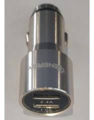 АЗП IENERGY CA-03 метал 2,4А