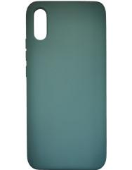 Чехол Silky Xiaomi Redmi 9a (темно-зеленый)