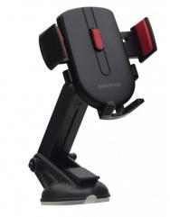 Автомобильный держатель Borofone BAD01 (красный/черный)