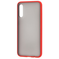 Чехол LikGus Maxshield матовый Samsung Galaxy A50/A50s (красный)