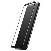 Стекло Samsung Galaxy S8 plus (black)