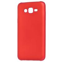 Чехол Soft Touch Samsung J7 (2015) /J701 NEO (2017) (красный)