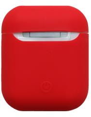 Чохол для Airpods силіконовий (червоний)