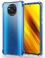 Чохол посилений для Xiaomi Poco X3 / Poco X3 Pro (прозорий)