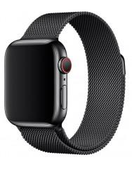 Ремінець Milanese для Apple Watch 38/40mm (чорний)
