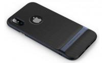Чехол-накладка Rock Royce iPhone X  (голубой)