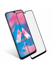Захисна нано-плівка Silicon Glass Samsung Galaxy A30 (5D Black)