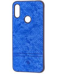Чохол Velvet Xiaomi Redmi 7 (синій)