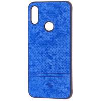 Чехол Velvet Xiaomi Redmi 7 (синий)