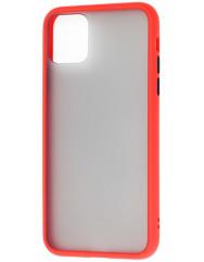 Чохол LikGus Maxshield матовий iPhone 11 Pro (червоний)