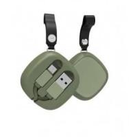 Кабель HAVIT HV-H640  micro USB (green)