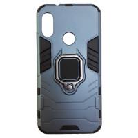 Чехол Armor + подставка Xiaomi Mi A2 Lite (серый)
