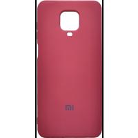 Чехол Silicone Case Xiaomi Redmi Note 9s/9 Pro (коралловый)