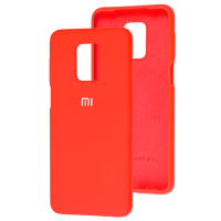 Чехол Silicone Case Xiaomi Redmi Note 9s/9 Pro (красный)