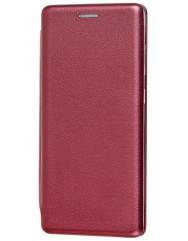 Книга Premium Samsung Galaxy A01 (бордовий)
