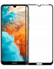 Скло броньоване Huawei Y6 2019 (5D Black) 0.33mm