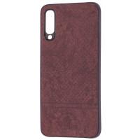 Чехол Velvet Samsung A70 (коричневый)