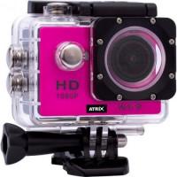 Экшн-камера ATRIX ProAction W9 Full HD (pink)