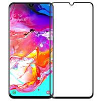 Стекло Samsung Galaxy A70 (5D Black)