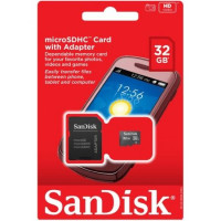 Карта памяти micro SD+adapter 32gb (10cl) SanDisk