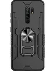 Чохол Beer Ring + підставка Xiaomi Redmi 9 (чорний)