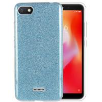 Чехол Shine Xiaomi Redmi 6a (голубой)