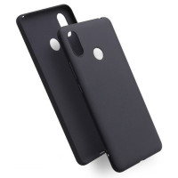 Чехол Soft Touch Xiaomi Redmi Note 7 (черный)