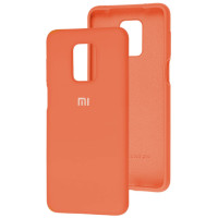 Чехол Silicone Case Xiaomi Redmi Note 9s/9 Pro (оранжевый)