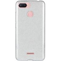 Чехол Shine Xiaomi Redmi 6 (cеребряный)