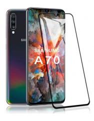 Скло броньоване Samsung Galaxy A70 (5D Black)